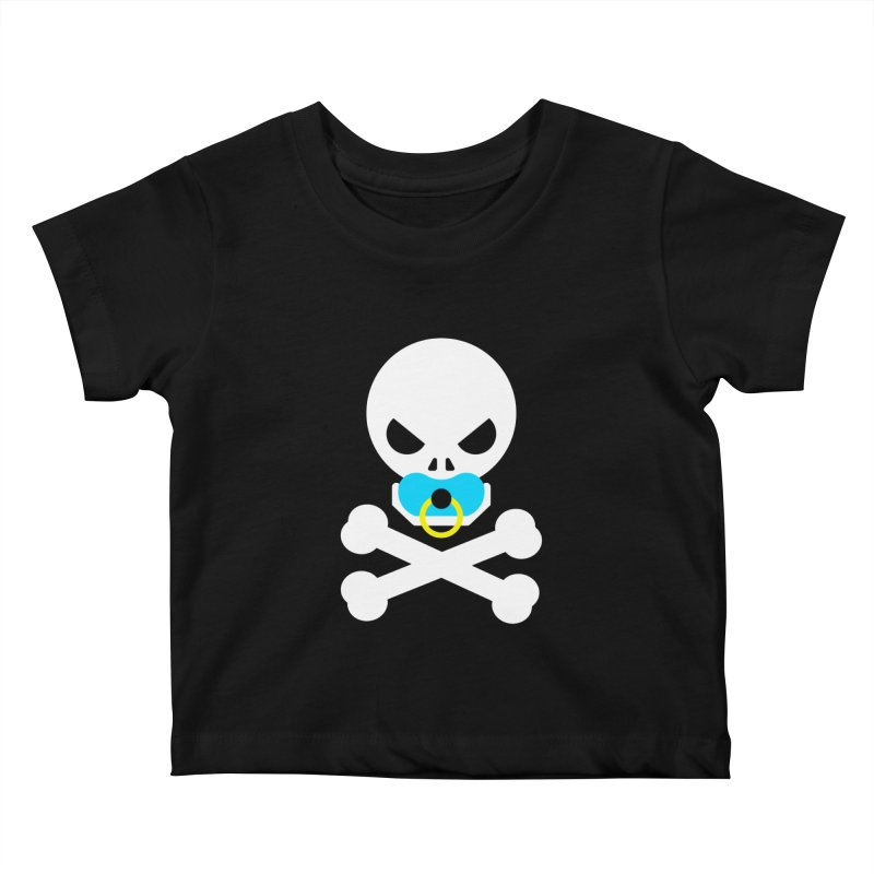 Jolly Roger's Baby Kids Baby T-Shirt by Universehead Podcast Network Store