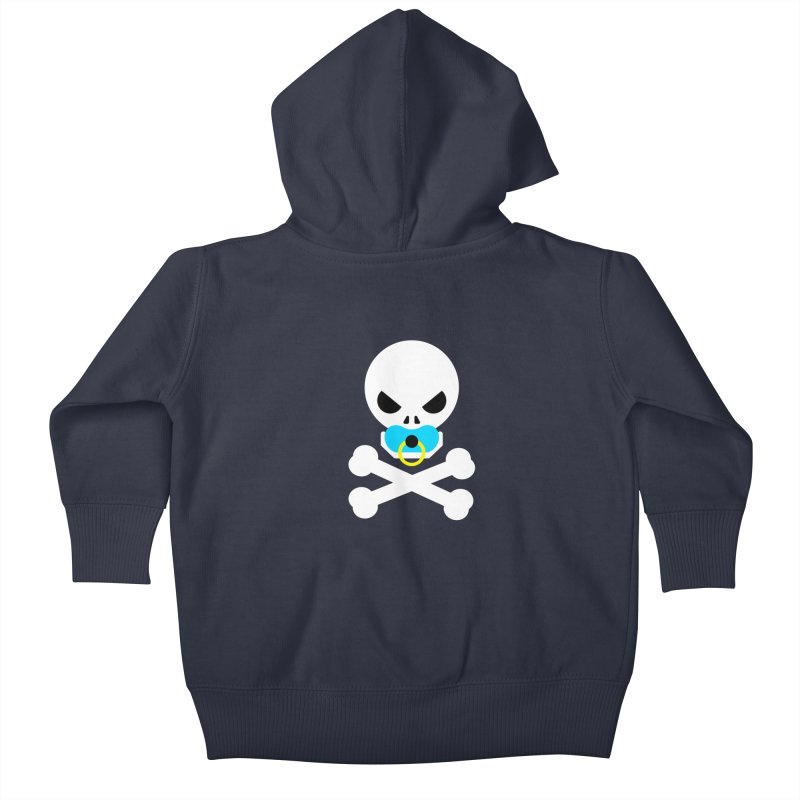 Jolly Roger's Baby Kids Baby Zip-Up Hoody by Universehead Podcast Network Store