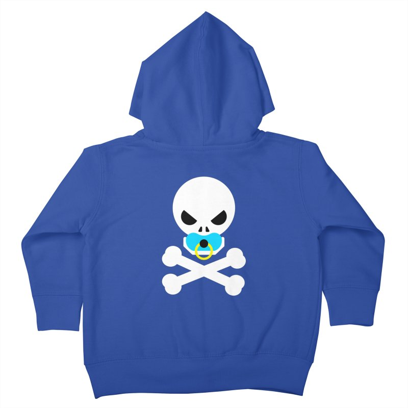 Jolly Roger's Baby Kids Toddler Zip-Up Hoody by Universehead Podcast Network Store