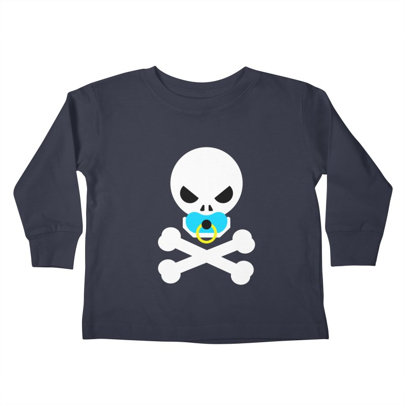 Jolly Roger's Baby Kids Toddler Longsleeve T-Shirt by Universehead Podcast Network Store