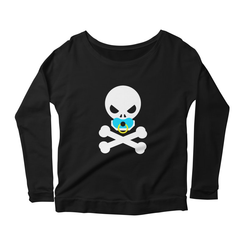 Jolly Roger's Baby Women's Scoop Neck Longsleeve T-Shirt by Universehead Podcast Network Store