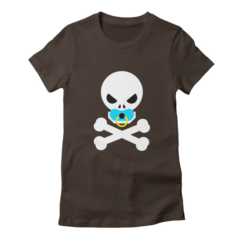Jolly Roger's Baby Women's Fitted T-Shirt by Universehead Podcast Network Store