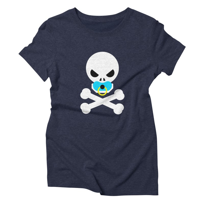 Jolly Roger's Baby Women's Triblend T-Shirt by Universehead Podcast Network Store