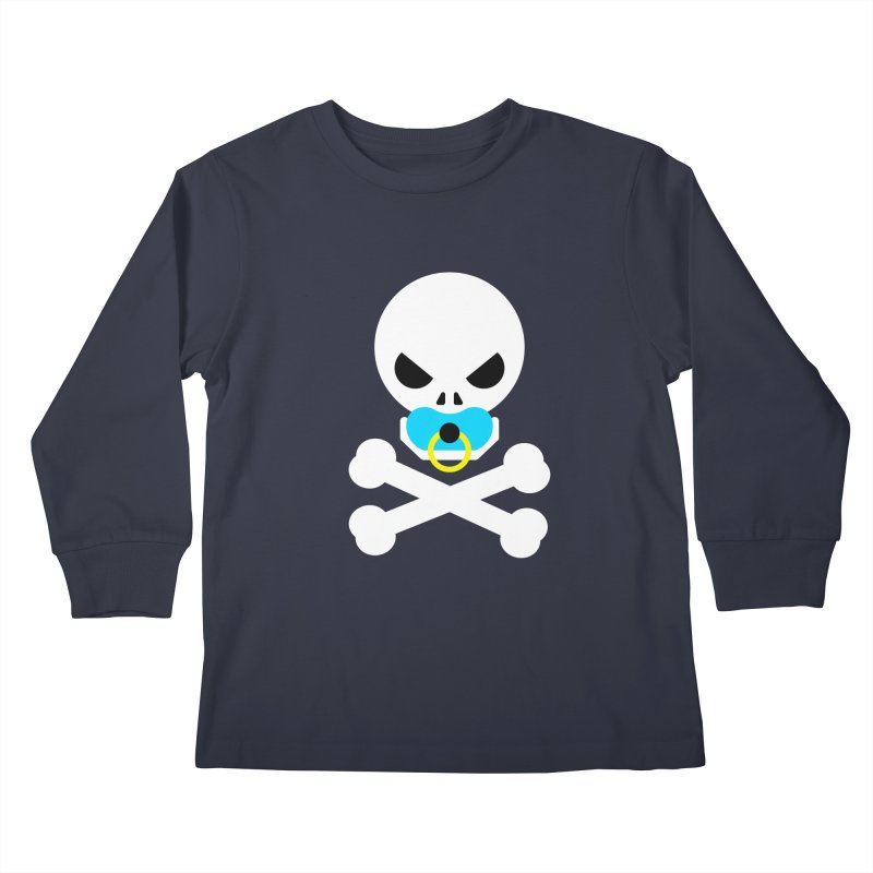 Jolly Roger's Baby Kids Longsleeve T-Shirt by Universehead Podcast Network Store