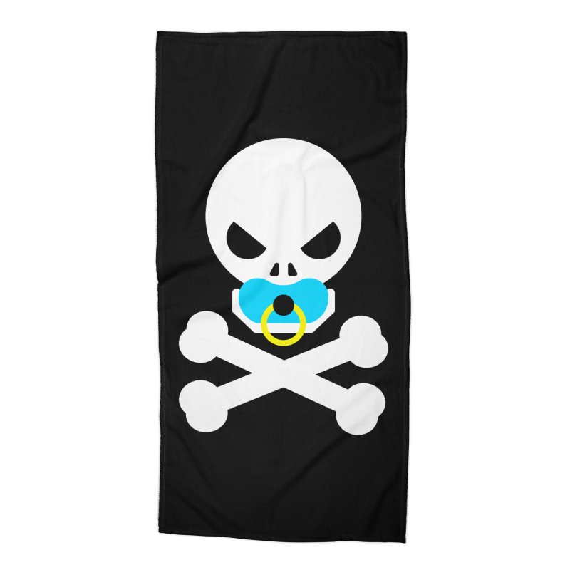 Jolly Roger's Baby Accessories Beach Towel by Universehead Podcast Network Store