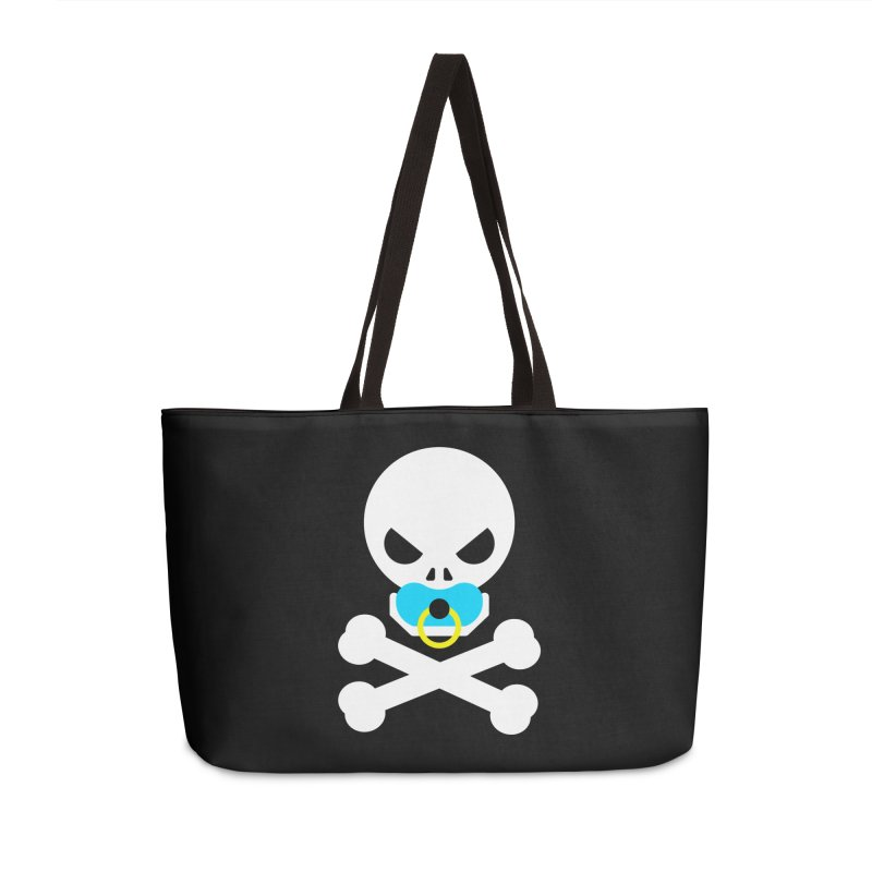 Jolly Roger's Baby Accessories Weekender Bag Bag by Universehead Podcast Network Store