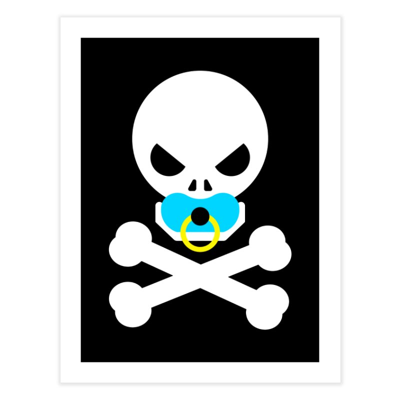Jolly Roger's Baby Home Fine Art Print by Universehead Podcast Network Store