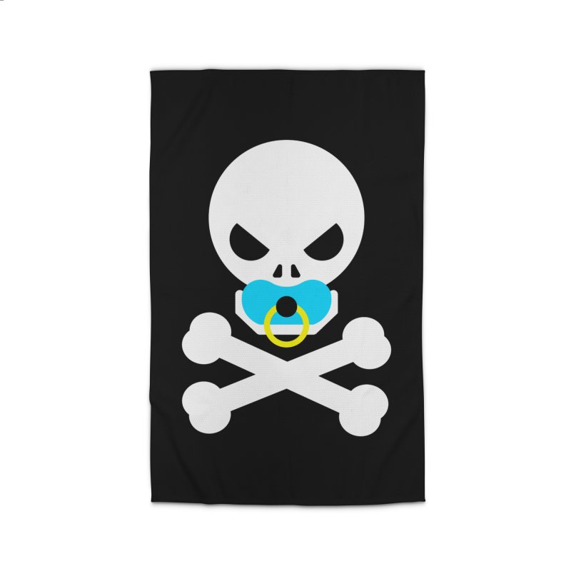 Jolly Roger's Baby Home Rug by Universehead Podcast Network Store