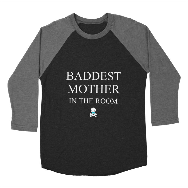 Who's the baddest? Women's Baseball Triblend Longsleeve T-Shirt by Universehead Podcast Network Store