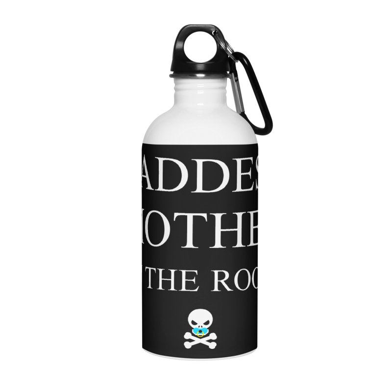 Who's the baddest? Accessories Water Bottle by Universehead Podcast Network Store