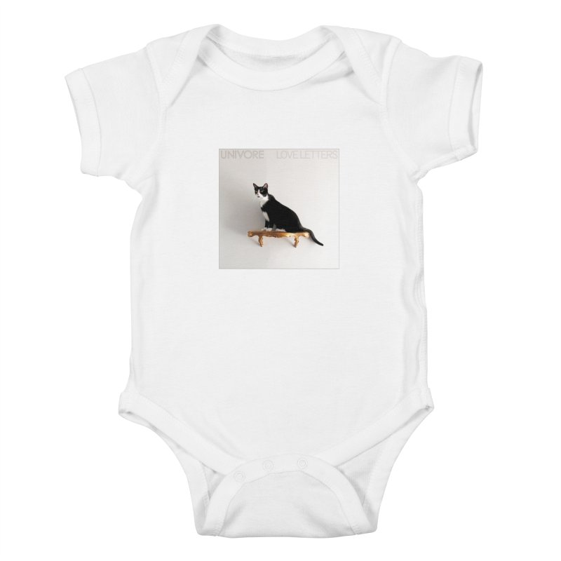 Love Letters Kids Baby Bodysuit by the UNIVORE store