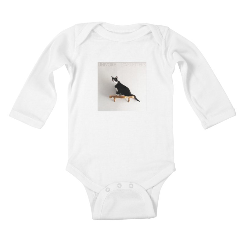 Love Letters Kids Baby Longsleeve Bodysuit by the UNIVORE store