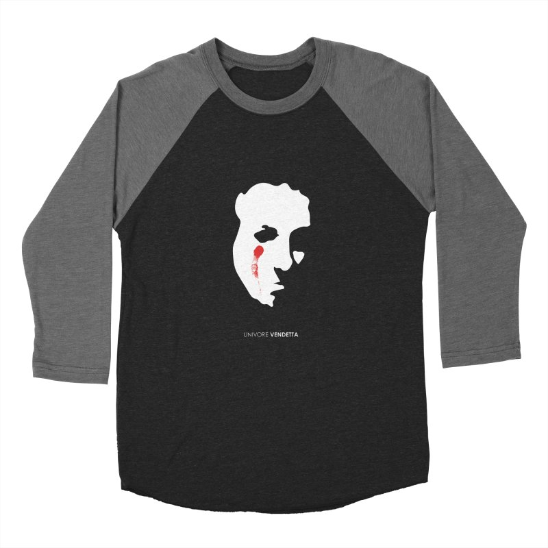 Vendetta Men's Baseball Triblend Longsleeve T-Shirt by the UNIVORE store