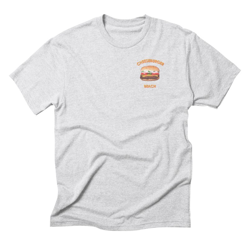 Cheeseburger Beach Men's T-Shirt by the UNIVORE store
