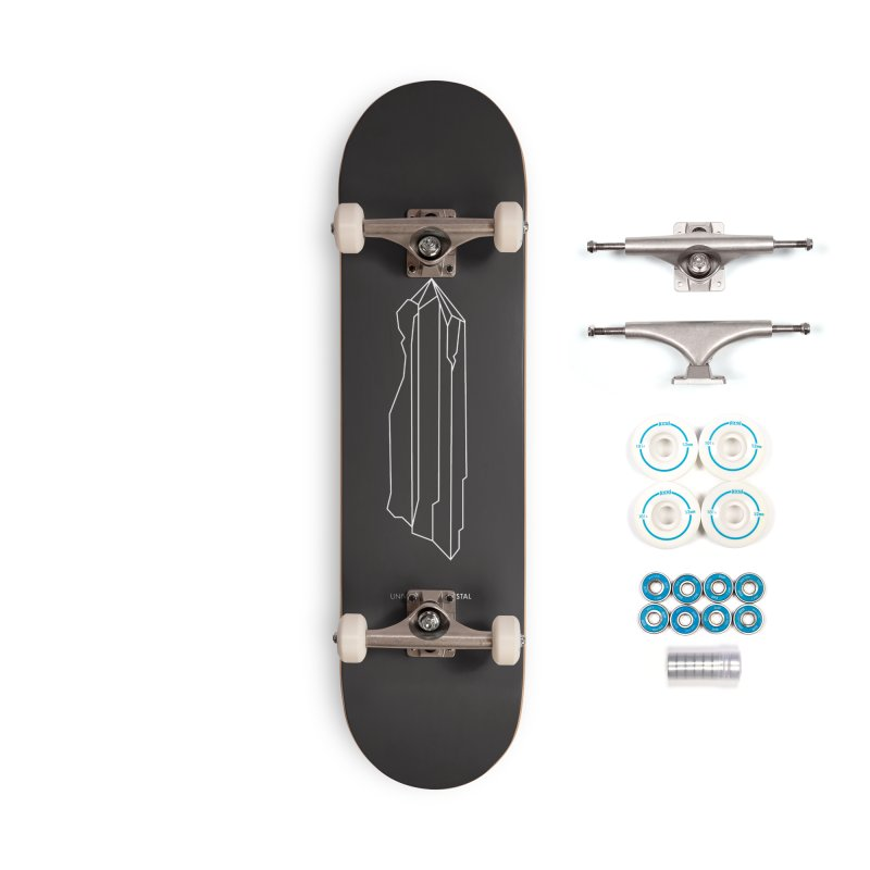 Time Crystal Accessories Skateboard by the UNIVORE store