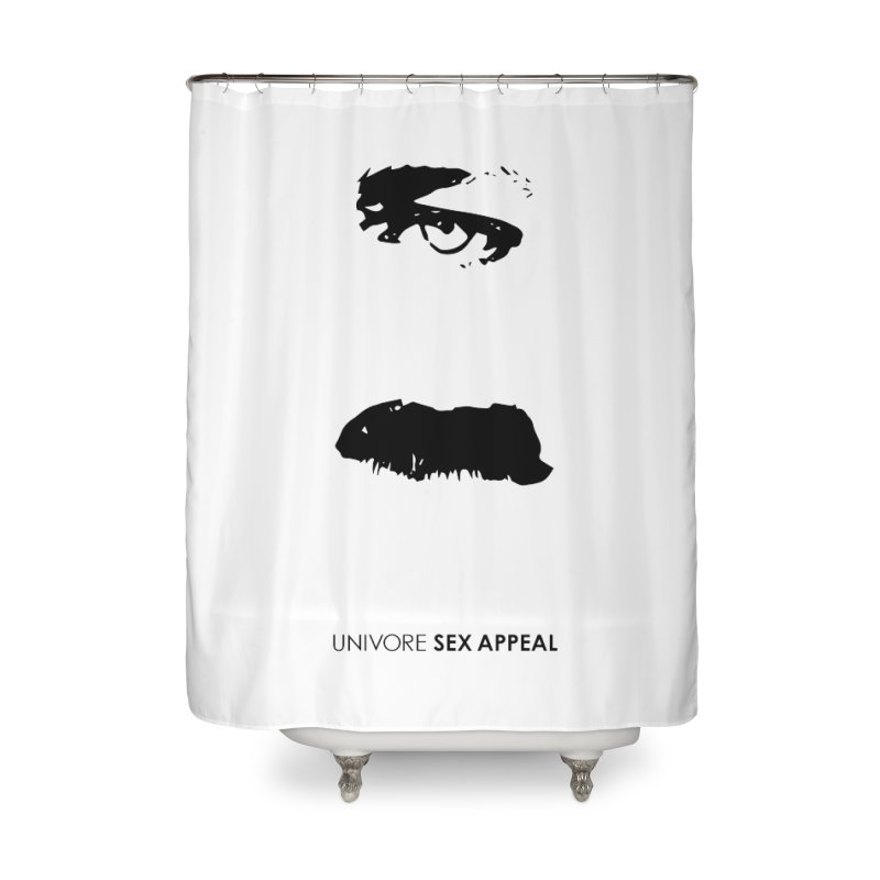 Sex Appeal Home Shower Curtain by the UNIVORE store