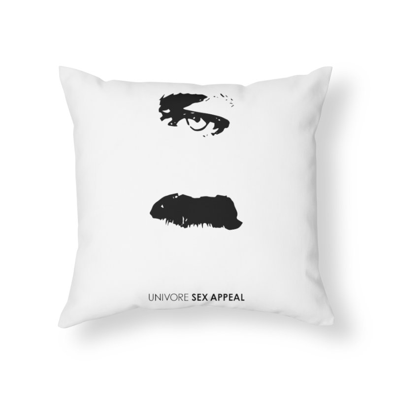 Sex Appeal Home Throw Pillow by the UNIVORE store