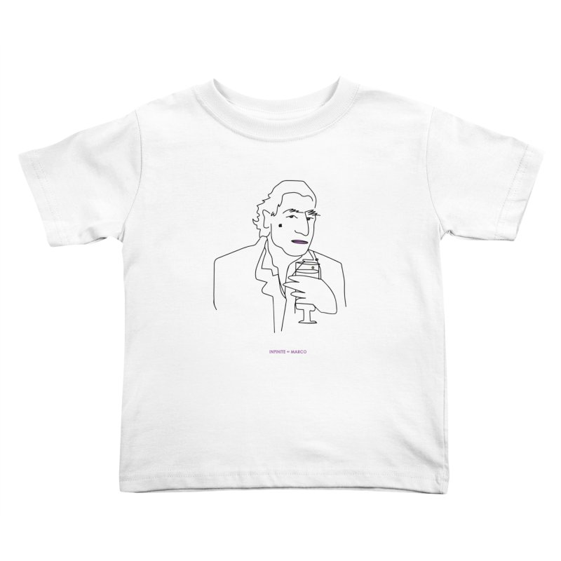 Infinite ∞ Marco (white) Kids Toddler T-Shirt by the UNIVORE store