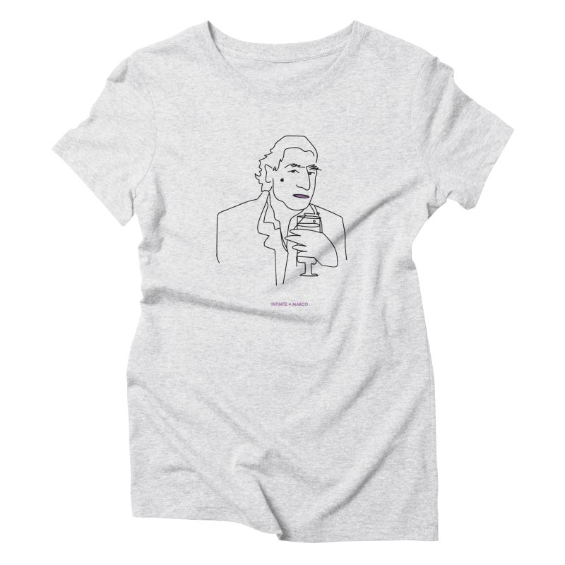 Infinite ∞ Marco (white) Women's T-Shirt by the UNIVORE store
