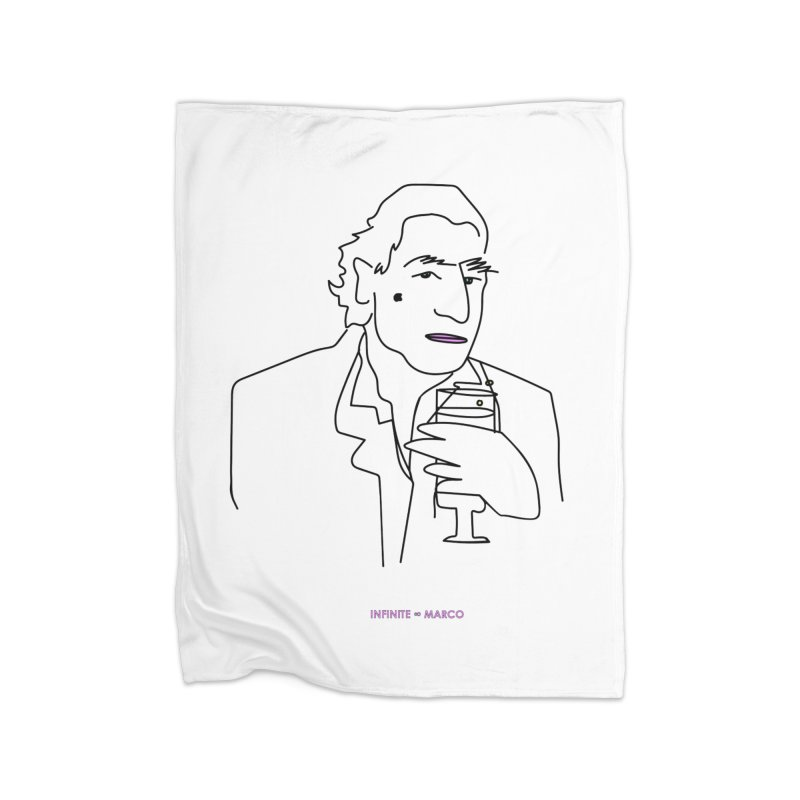 Infinite ∞ Marco (white) Home Blanket by the UNIVORE store