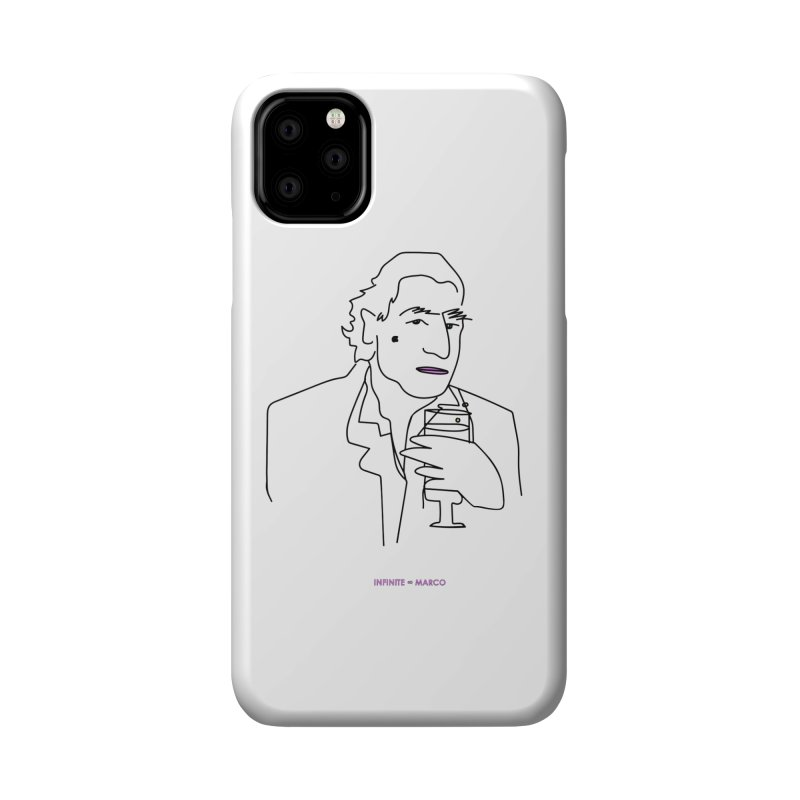 Infinite ∞ Marco (white) Accessories Phone Case by the UNIVORE store