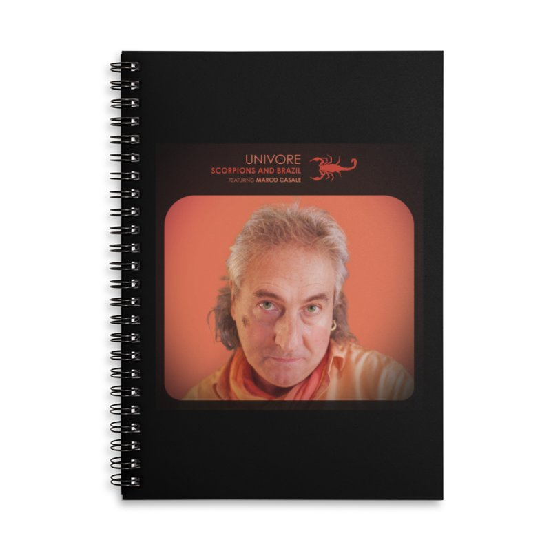 Scorpions and Brazil Accessories Lined Spiral Notebook by the UNIVORE store
