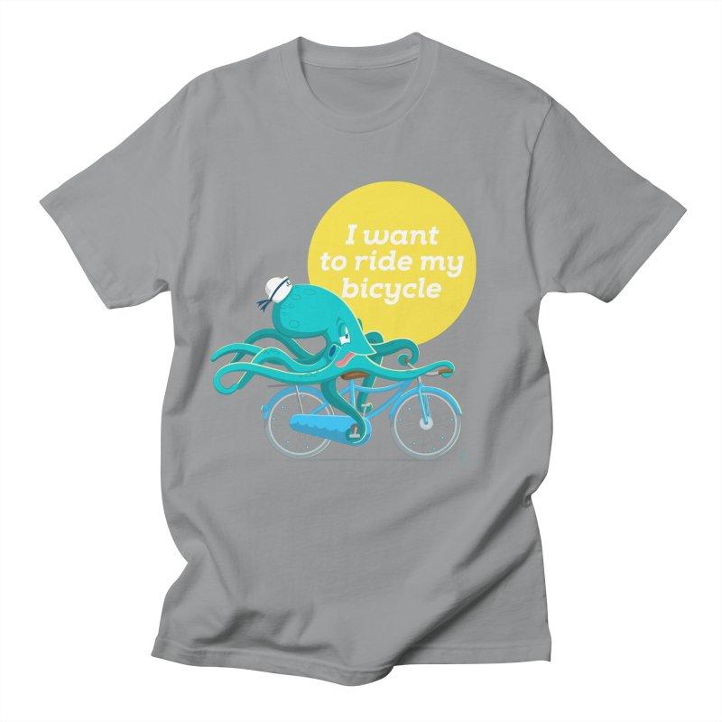 jerry the ocktopus Men's T-Shirt by Unleished Art