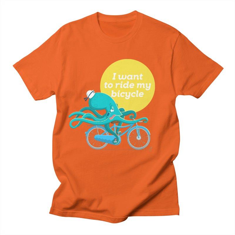 jerry the ocktopus Women's T-Shirt by Unleished Art