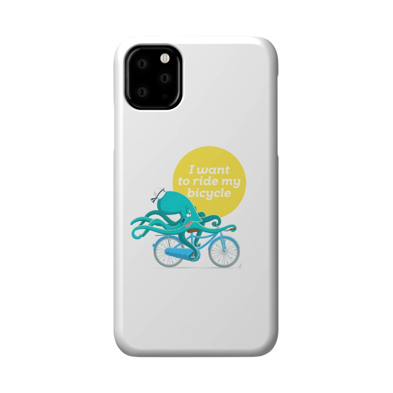 jerry the ocktopus Accessories Phone Case by Unleished Art