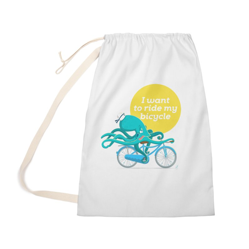 jerry the ocktopus Accessories Bag by Unleished Art