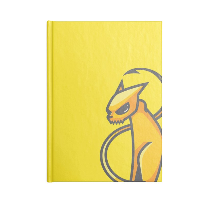 Fiesty Accessories Blank Journal Notebook by Unleished's Artist Shop