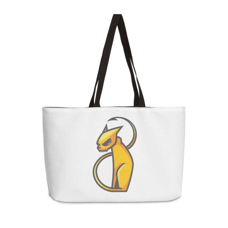 Fiesty Accessories Weekender Bag Bag by Unleished Art