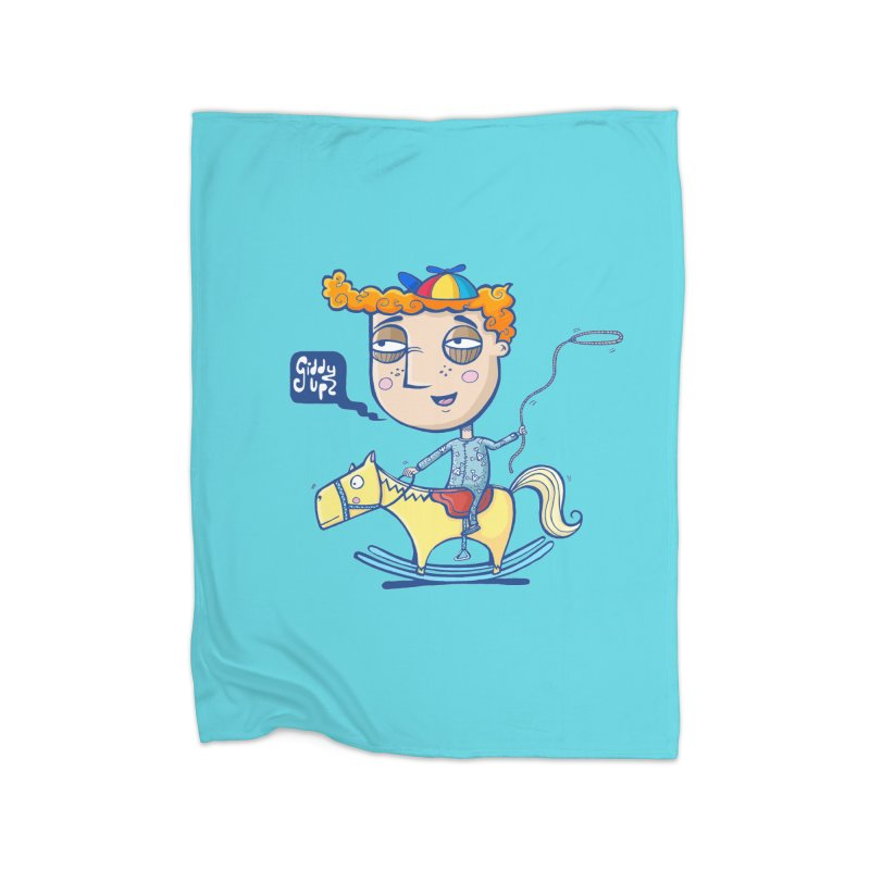 Giddy up! Home Blanket by Unleished Art