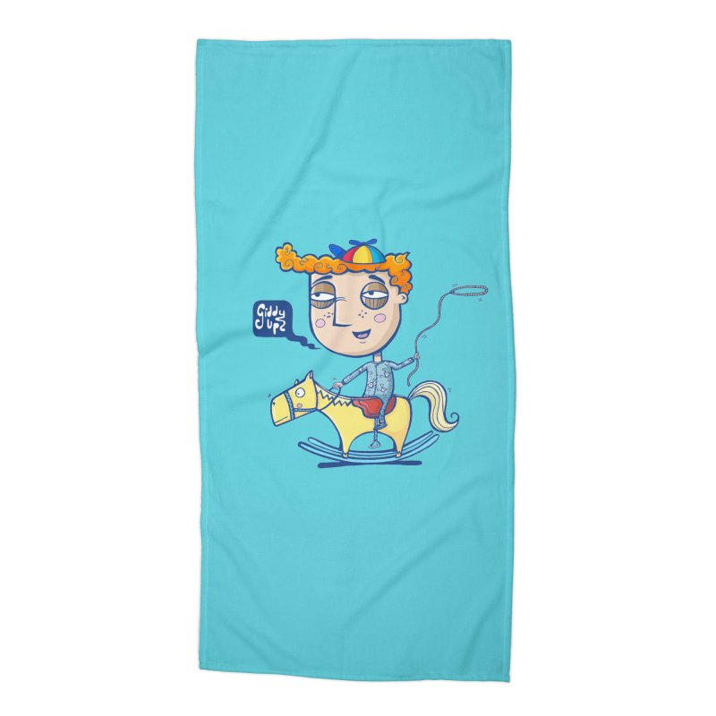 Giddy up! Accessories Beach Towel by Unleished Art