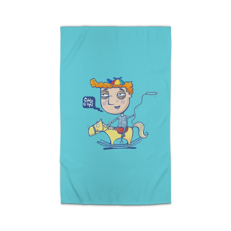 Giddy up! Home Rug by Unleished Art