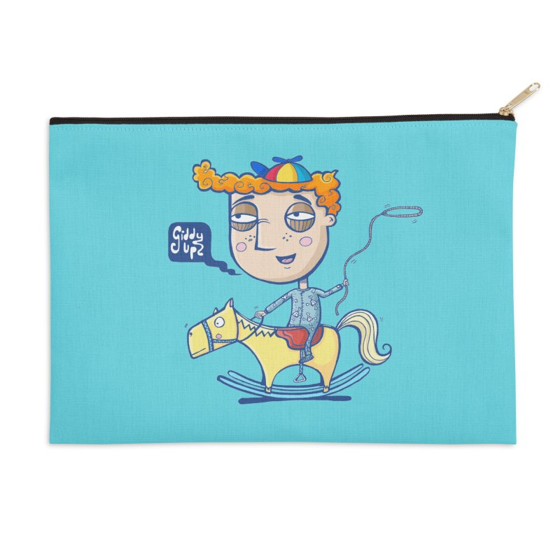 Giddy up! Accessories Zip Pouch by Unleished Art