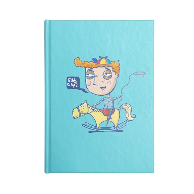 Giddy up! Accessories Lined Journal Notebook by Unleished's Artist Shop