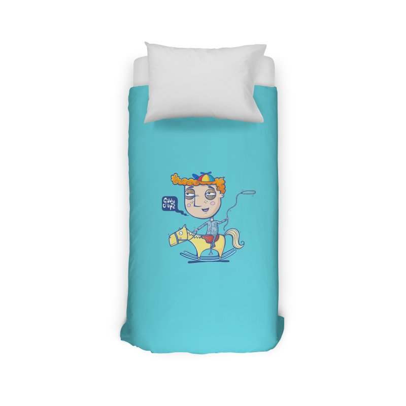 Giddy up! Home Duvet by Unleished Art