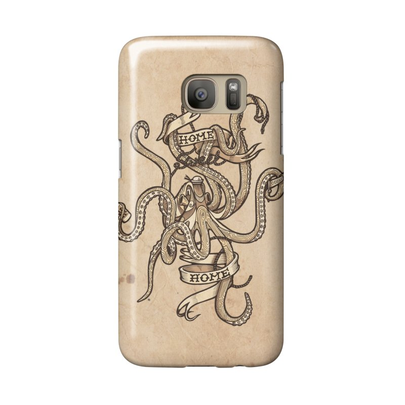Home sweet home_vintage Accessories Phone Case by Unleished Art