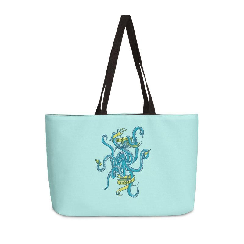 home sweet home Accessories Weekender Bag Bag by Unleished Art