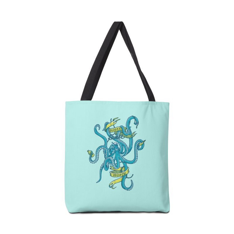 home sweet home Accessories Bag by Unleished Art