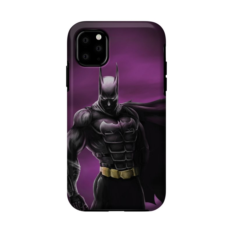 The Dark Knight Accessories Phone Case by Unleished Art