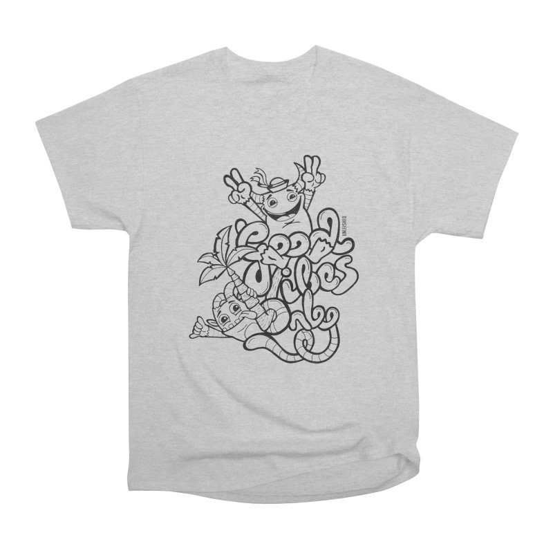 Good vibes only Men's T-Shirt by Unleished Art