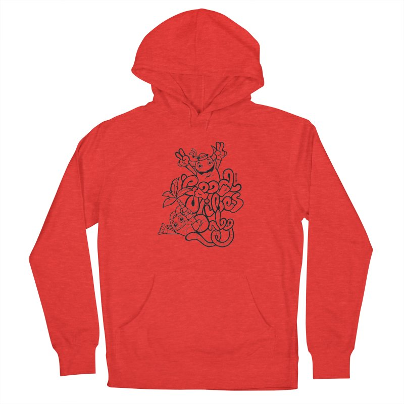 Good vibes only Men's Pullover Hoody by Unleished Art