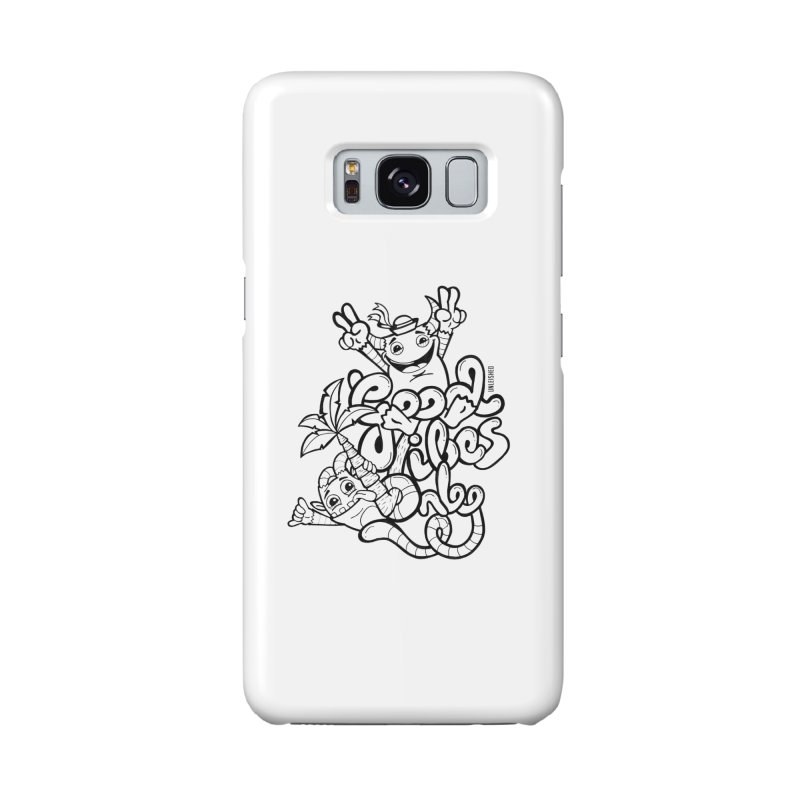 Good vibes only Accessories Phone Case by Unleished Art