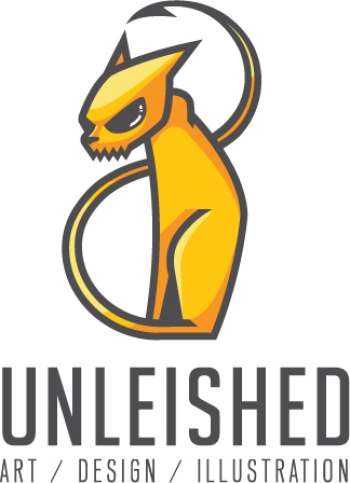 Unleished Art Logo