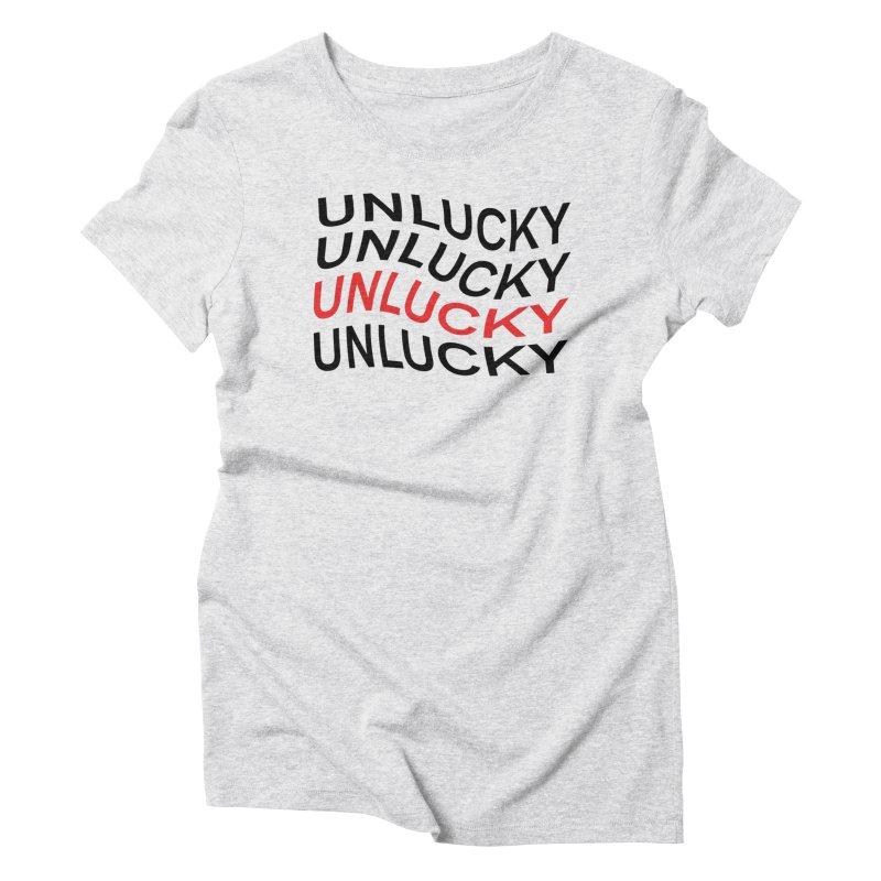 Unlucky Wave Women's Triblend T-Shirt by UNLUCKY CULT