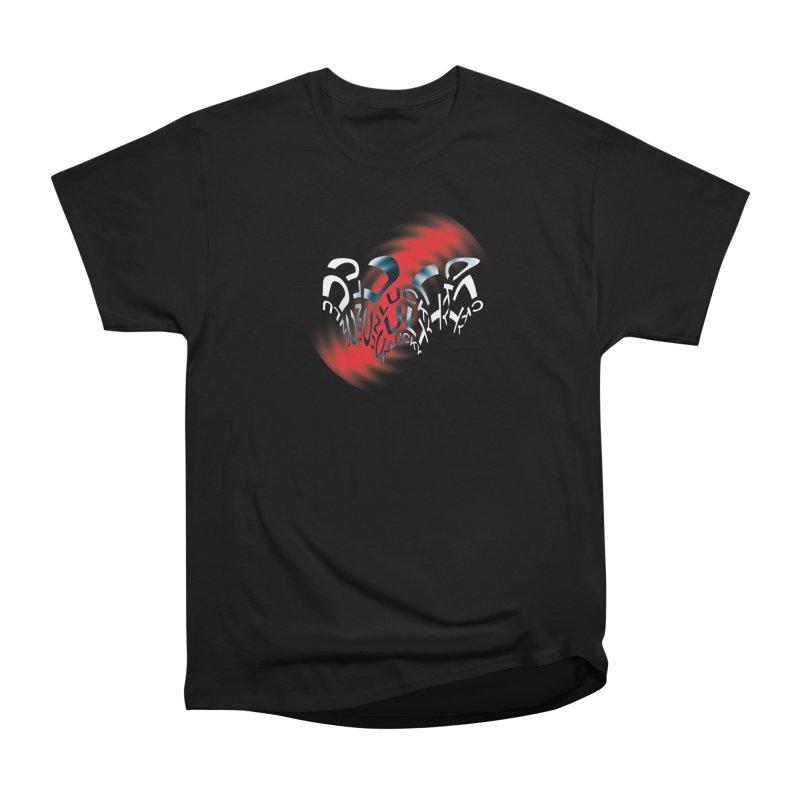 Unlucky Ripple Men's Heavyweight T-Shirt by UNLUCKY CULT