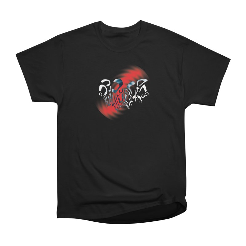 Unlucky Ripple Women's Heavyweight Unisex T-Shirt by UNLUCKY CULT