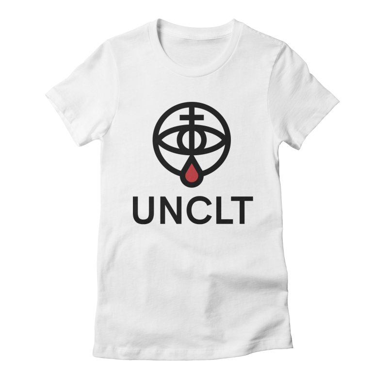Unlucky Logo Women's Fitted T-Shirt by UNLUCKY CULT